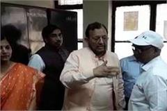 minister suresh khanna furious after seeing the mess in the