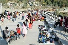 temporary market on bhoothnath bridge