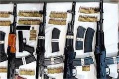 more than 200 modern weapons recovered since 2017