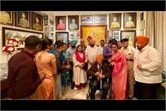 amarinder singh meet 2 sikh regiment retired officer