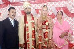 foreign girl marriage with himachali gabru