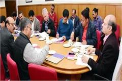 chief secretary meeting about natural farming