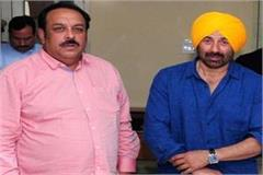sunny deol to do road show in phagwara and mukerian