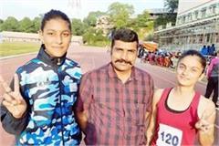 gold medal in 100 400 800 meter race