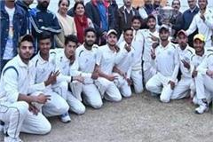 mlsm college sundernagar named inter college cricket championship title
