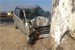 car rammed tree uncontrolled youth dies