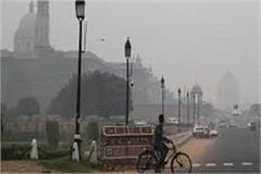 smog due to weather opening air pollution level declines
