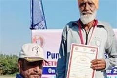 80 year old charanjit ram won 2 gold medals
