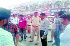 city council and traffic police launched encroachment drive in the city