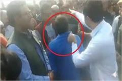 bjp leader s son shot dead dm molested by family of deceased