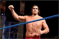 the great khali is going to hit the ring once again