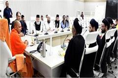 muslim leaders meet cm yogi