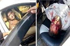 drunk police inspector crushes bike riders one dead and other injured