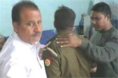 in bareilly the inspector was caught red handed taking