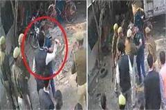 video of deoria dm amit kishore s hooliganism goes viral