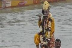 kashi unique nag nathaiya leela launched by tulsidas in lakkha fair