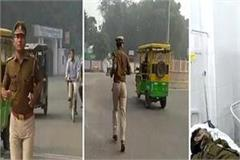 angry with police officers sub inspector ran on 40 km road