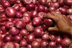 onion disappears from hamirpur markets customers are also averse to buying