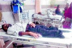 agra resident s leg amputated after falling from sachkhand express