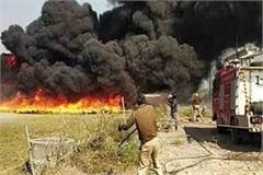 land acquisition case in unnao angry farmers set fire to power house