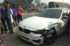 lalu s son s car crashed into auto in varanasi stirred up in administration