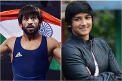 bajrang punia will marry sangeeta phogat after tokyo olympics