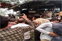 4 killed 35 injured in two separate accidents