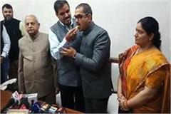 bhupeshwar dayal takes charge after cm khattar reappointed osd