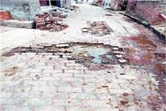 villagers upset over potholes d c will plead with