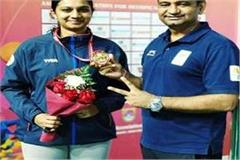 kajal saini wins bronze medal after asian shooting championship gold