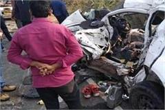 meerut 5 tragic deaths in car accident in a gruesome accident