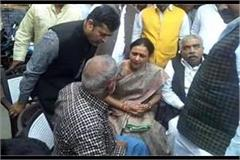 up congress says this incident happened on the farmers of unna