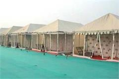 management for 35000 accompaniments in tent city
