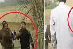 ballia police brutally beat women video goes viral