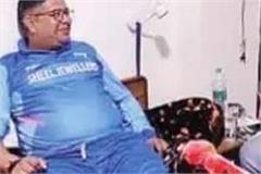 mla ashish injured during cricket match