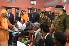 cm yogi set up janata darbar listened to more than 300 complainants