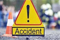 paonta sahib road accident 2 injured