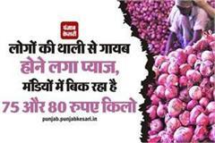 onion prices got higher