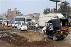 traffic deteriorated railway line delhi pilani route