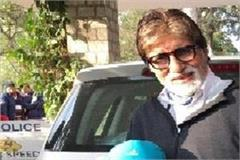 amitabh reached manali for shooting