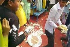 sambhal robbed of cake on the birthday of mulayam singh yadav