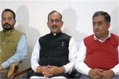 satpal satti target on congress and mukesh agnihotri