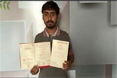 fatehabad youth printed wedding card in haryanvi language hrrm