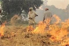 those who burn stubble no longer but will be rewarded for giving information