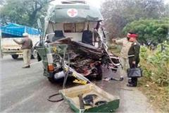 death of 3 including soldier of himachal