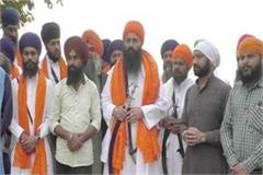daduwal reached damdama sahib after his release from jail