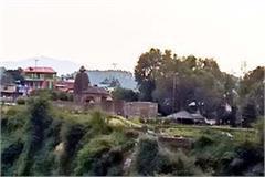 waste thrown in binwa river