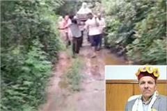 agriculture minister gave orders for investigation on the issue of road