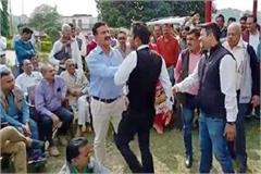 fight in election of dehra mandal bjp