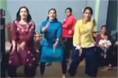 babita fougat dances with sisters on the song bala